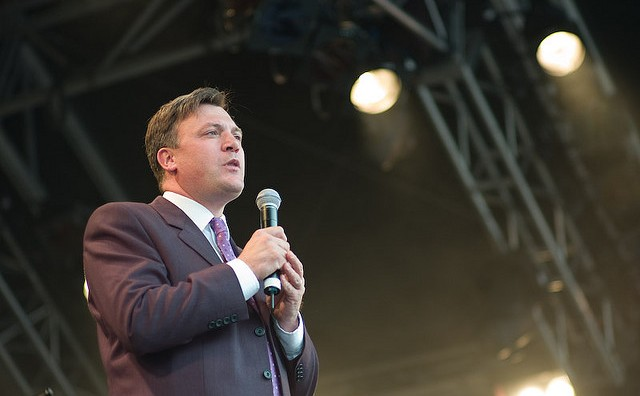 Ed Balls visited Milton Keynes