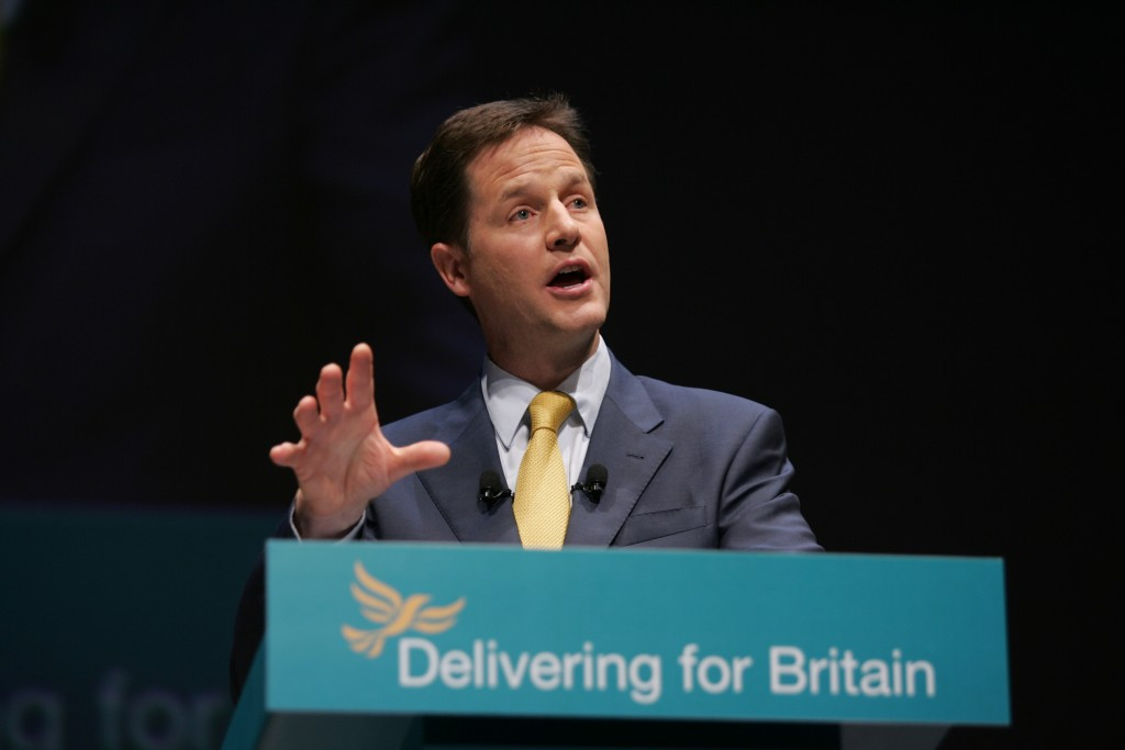 Clegg rules out forming a coalition reliant on life support from the SNP