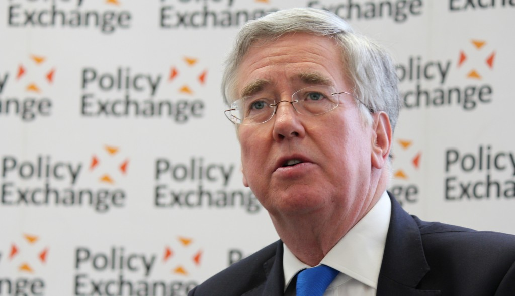 Michael Fallon conservative defence minister
