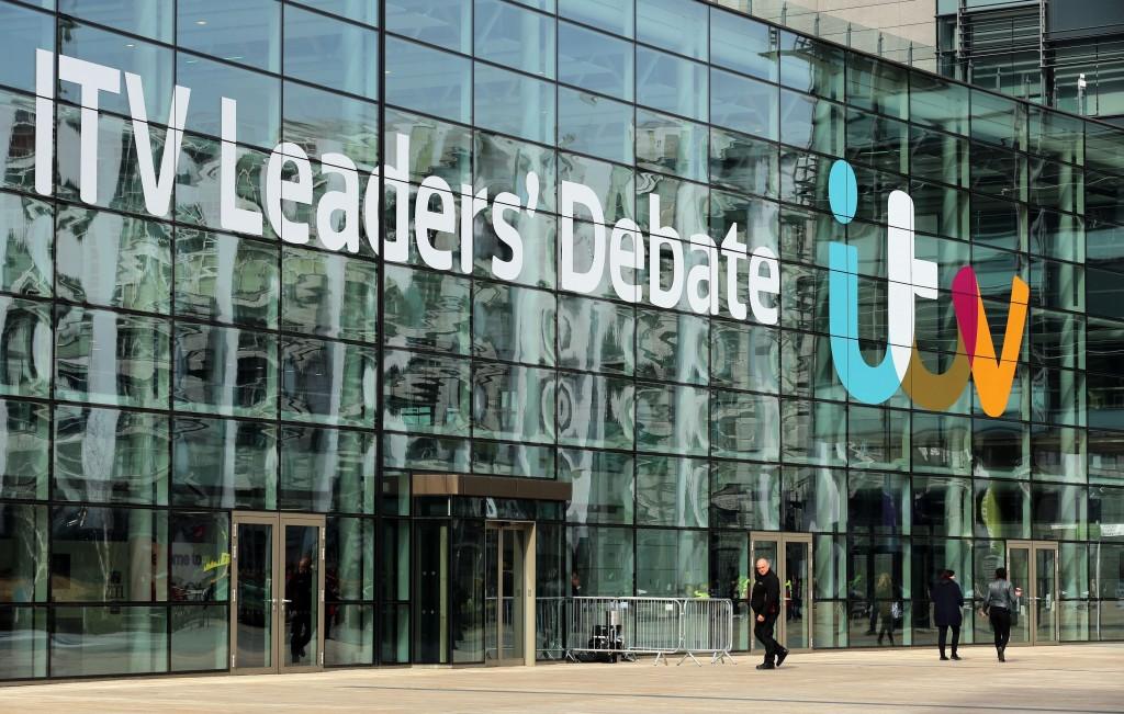 A photo of ITV studios