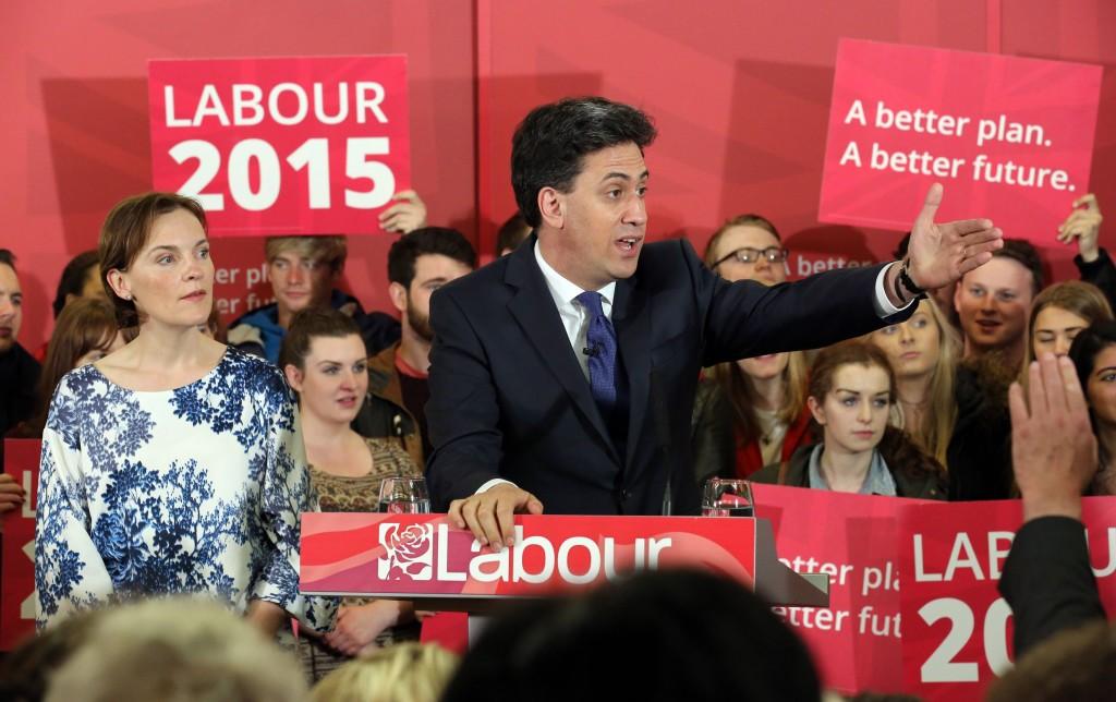 Ed Miliband in Leeds