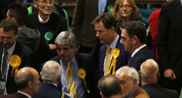 Rumours say Clegg may stand down