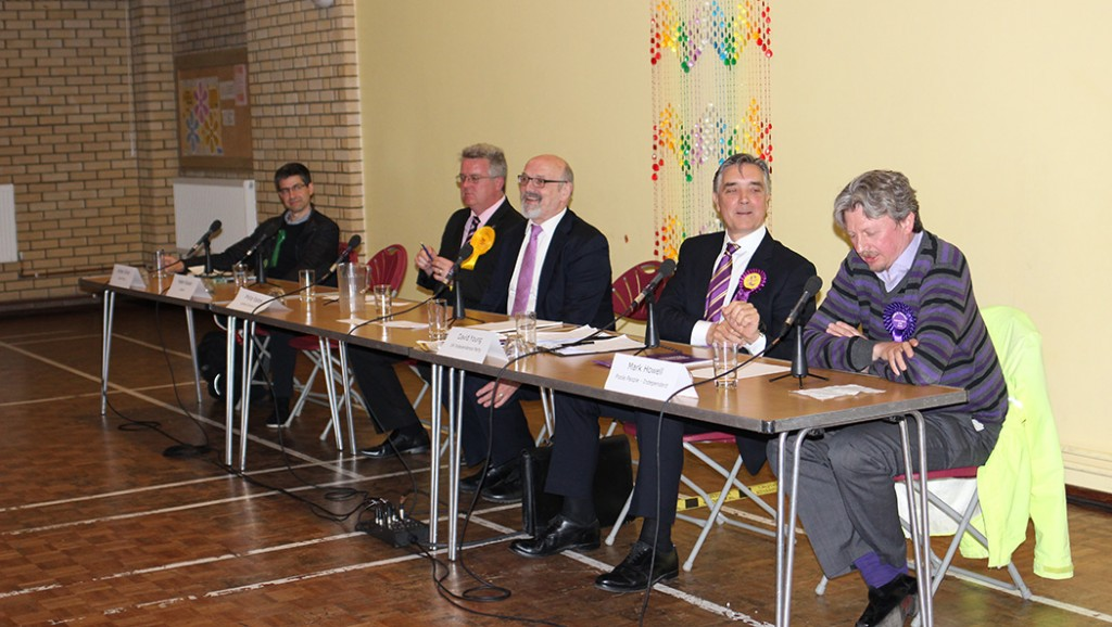 Poole hustings photo