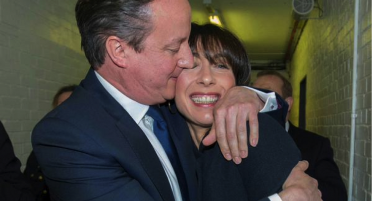 The election night in pictures