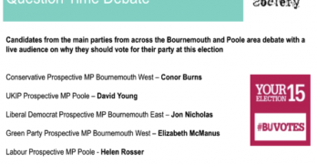 BU Politics society to host question time debate