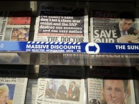 The naked partisanship of the British press became clear with today's front pages