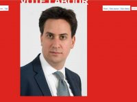 Tory Wikipedia pages defaced with pictures of Ed Miliband