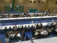 Littledown Centre will see many votes counted in the next hour